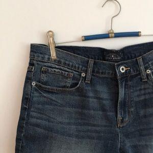 14 / 32 Lucky Brand Roll Up Blue Jean Denim Shorts